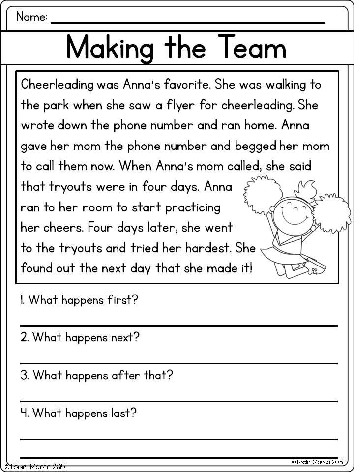 Retell Worksheet First Grade Retell A Story Rl1 2
