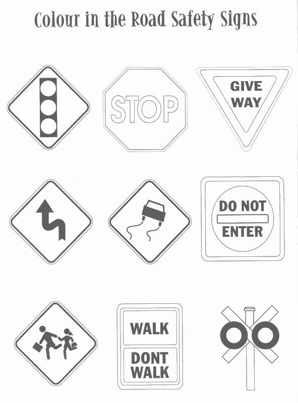 Safety Signs Worksheets for Kindergarten Pin by Chelsie Hansen On Yw