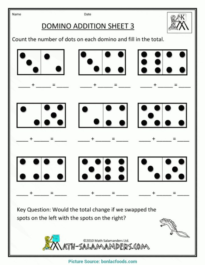 Salamander Math Worksheet Math Worksheet Remarkable Preschool Math Worksheets Free