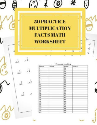 Scholastic Math Worksheets 50 Practice Multiplication Facts Math Worksheet Scholastic Success Daily Practice Guide for Elementary Students for 3 4 Grade Paperback