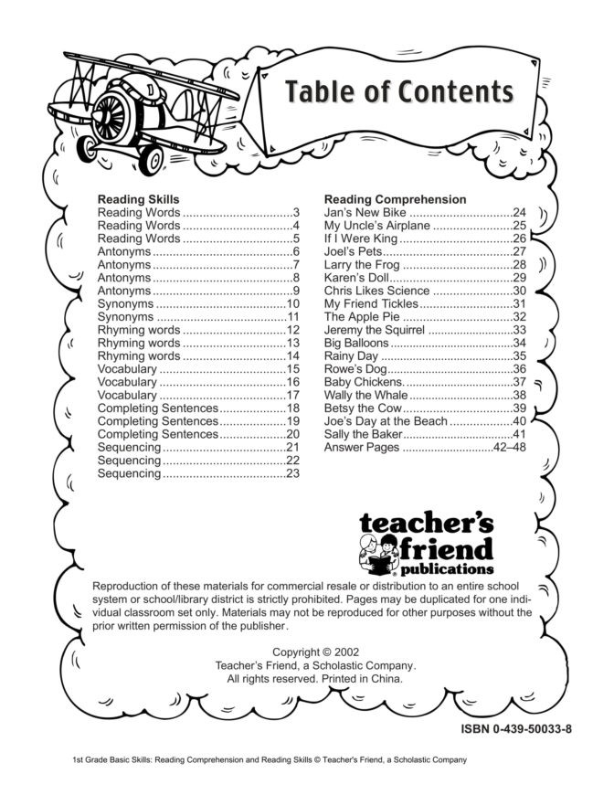 Scholastic Math Worksheets Worksheet Math Worksheet Reading Worksheets Grade Image