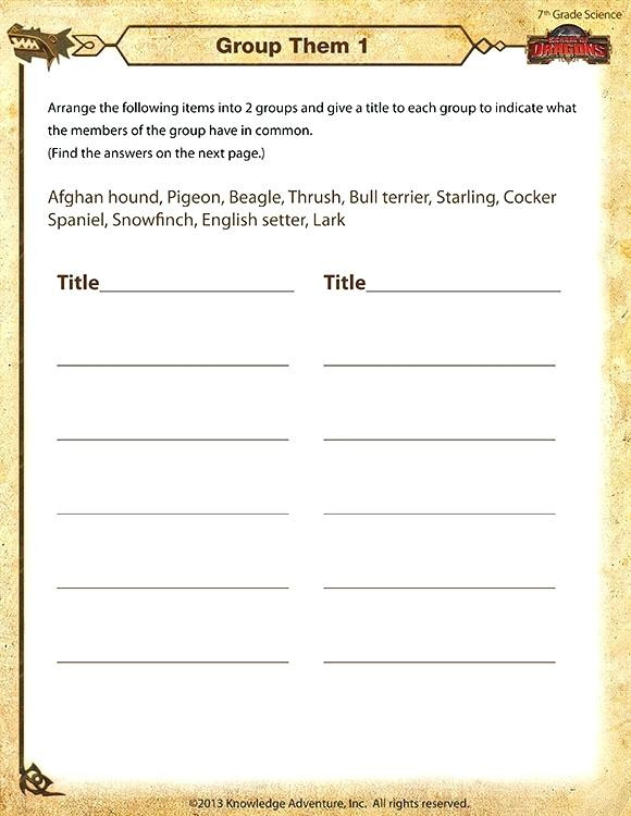 Science 7th Grade Worksheets Free 7th Grade Science Worksheets – Keepyourheadup