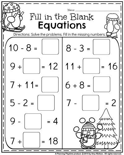Science Worksheet First Grade 1st Grade Worksheets for January