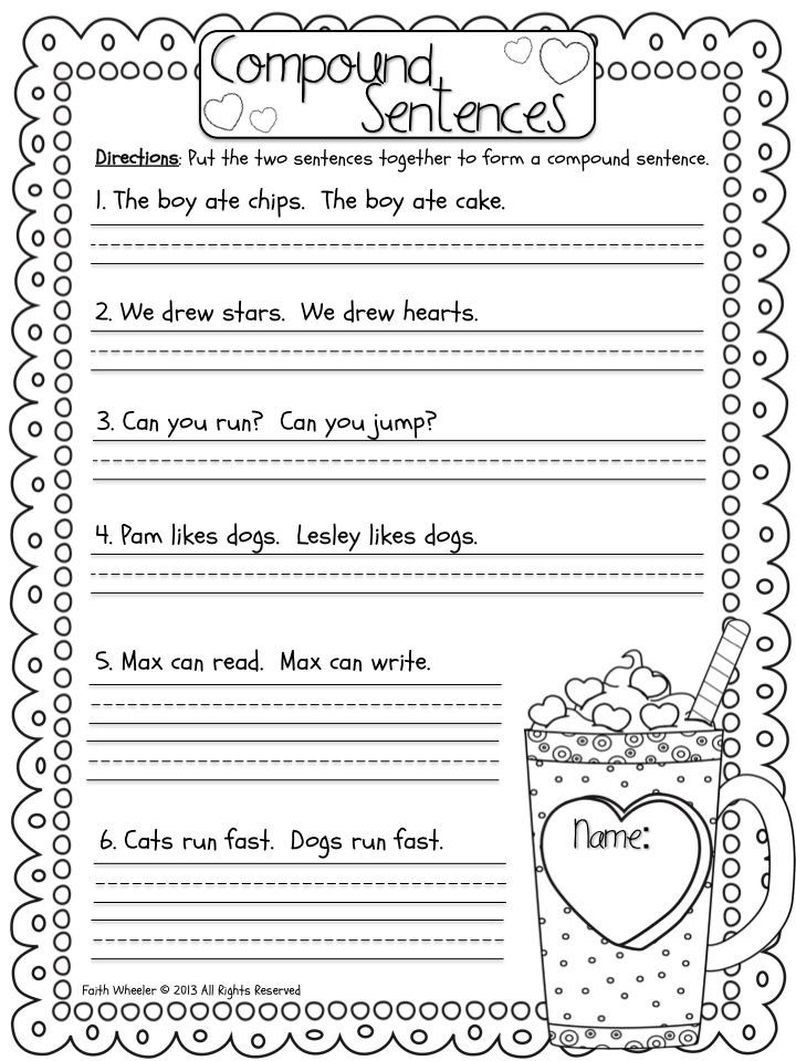 Sentence Worksheets First Grade 1st Grade Fantabulous Merry Go Rounds and Freebies