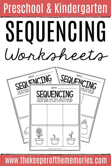 Sequence Worksheets for Kindergarten 3 Step Sequencing Worksheets the Keeper Of the Memories