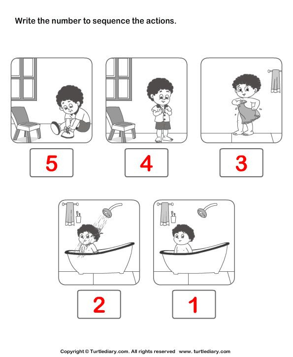 Sequencing Worksheet Kindergarten Sequence events Worksheets for Kindergarten – Mreichert
