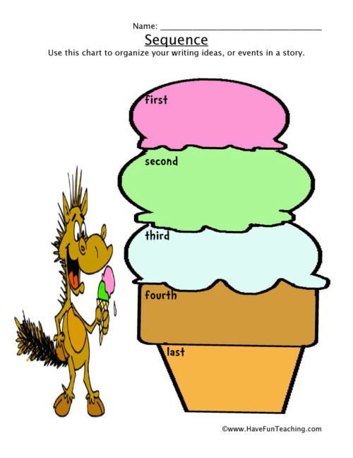 Sequencing Worksheets for 2nd Grade Sequencing Worksheets • Have Fun Teaching