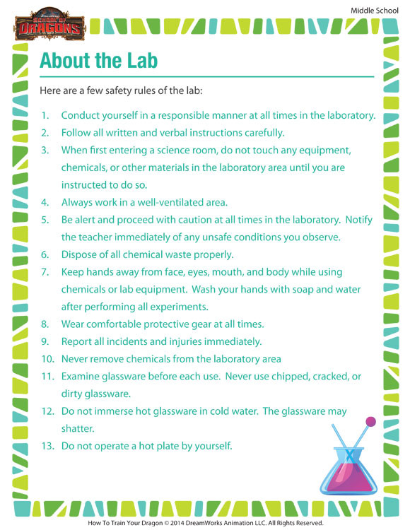 Seventh Grade Science Worksheets About the Lab – Resource Printable Kid for 7th Grade – sod