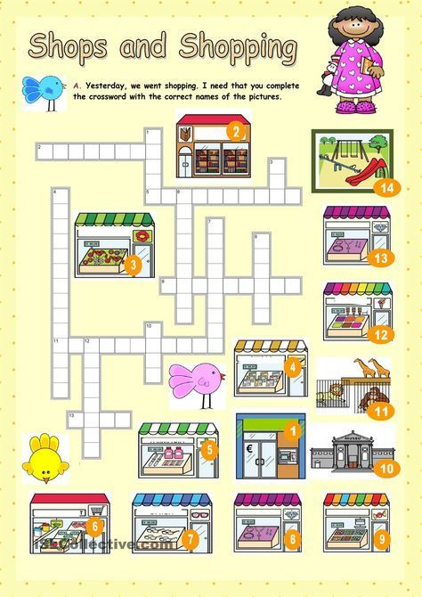 Shopping Math Worksheet Shops and Shopping