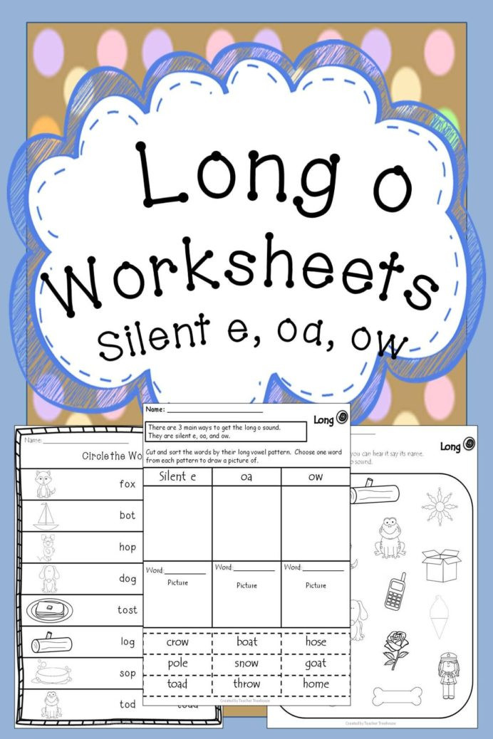 Silent E Worksheets for Kindergarten Long Vowel O Silent E Worksheets Worksheets Subtraction Word