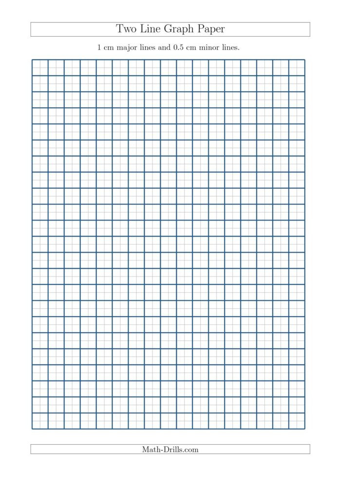 Skip Counting Worksheets 3rd Grade Two Line Graph Paper with Cm Lines and Minor Free Math