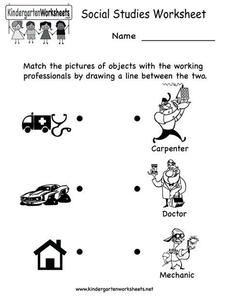 Social Studies Worksheets for Kindergarten Pin by Sianzila Brid On social Stu S