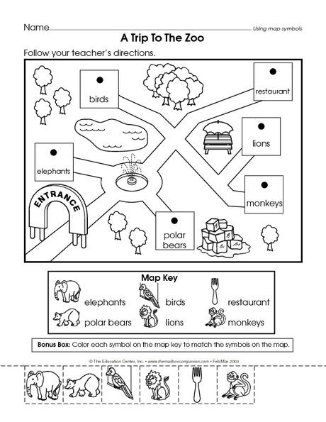 Social Studies Worksheets for Kindergarten Placeholder