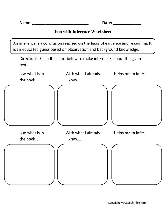 Text Evidence Worksheets 3rd Grade Making Predictions with Text Evidence Worksheets