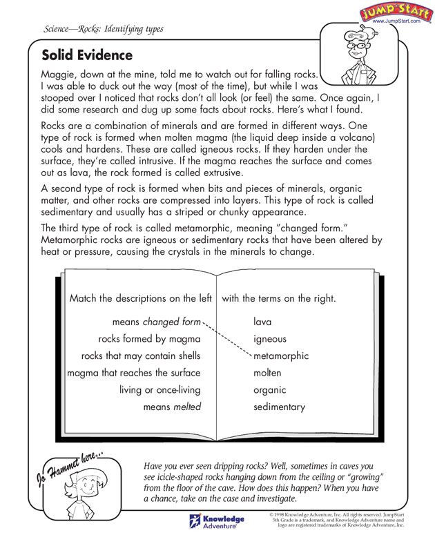 """Text Evidence Worksheets 3rd Grade solid Evidence"""" – 5th Grade Science Worksheets Jumpstart"""