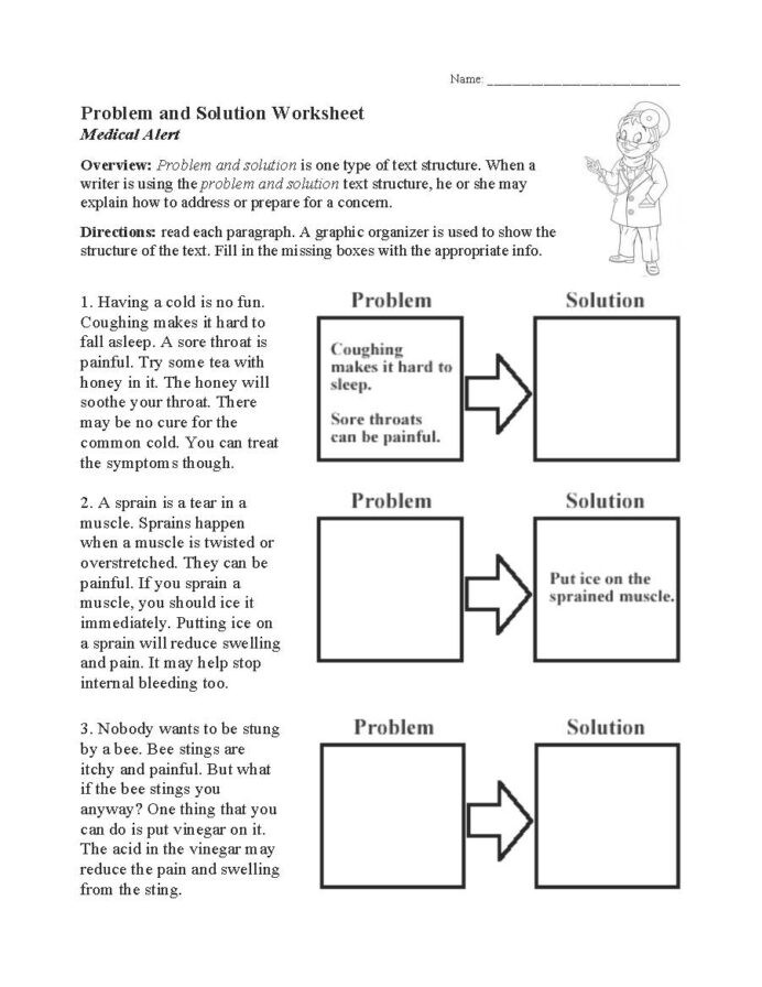 Text Structure 4th Grade Worksheets Text Structure Worksheets Free for Primary Grades Problem