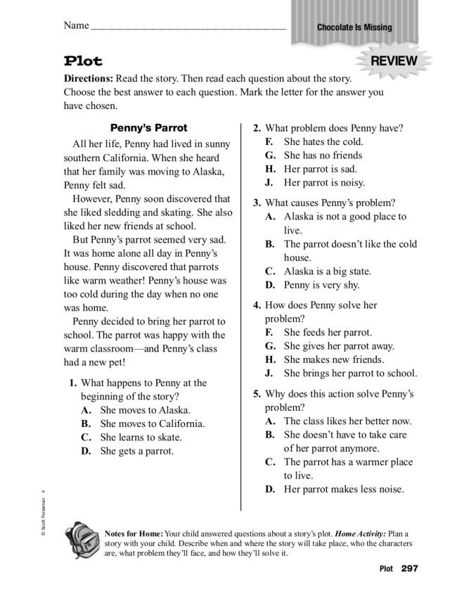 Text Structure 5th Grade Worksheets Plot Chocolate is Missing Worksheet for 4th 5th Grade Lesson