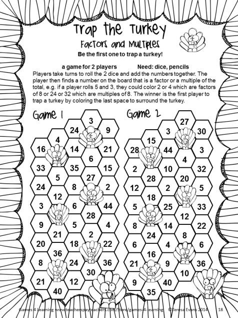 Thanksgiving Math Worksheets 5th Grade 9 5th Grade Thanksgiving Math Worksheets Grade