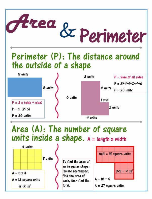 Third Grade Perimeter Worksheets 6 8 area Of A Rectangle Gruending Math 6