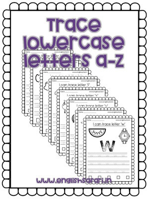 Tracing Lowercase Letters Worksheets Free Letter Tracing Worksheets for Preschool