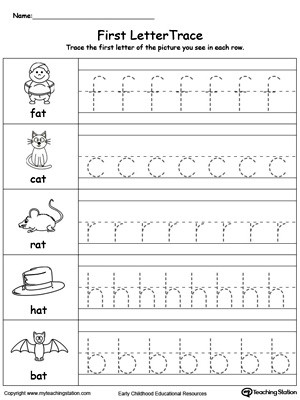 Tracing Lowercase Letters Worksheets Lowercase Letter Tracing at Words