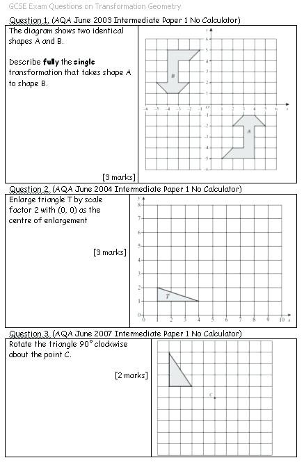 Transformations Math Worksheets Transformation Worksheets Math – Beatricehewub