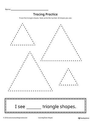 Triangle Worksheet for Kindergarten Pin On Printable Worksheet for Kindergarten