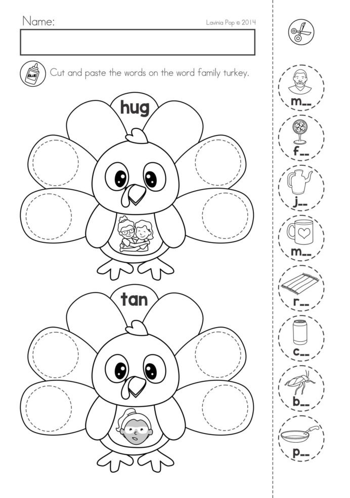 Turkey Math Worksheet Thanksgiving Printable Worksheets High School Able Free Math
