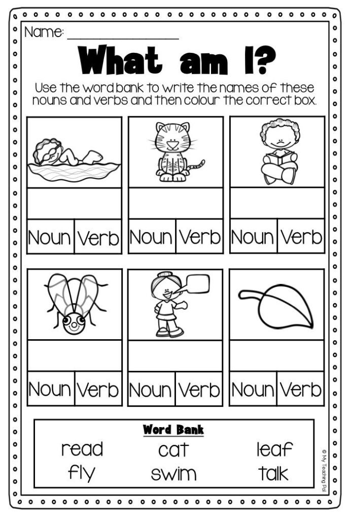 Verbs Worksheets for 1st Grade 4th Grade Math Problems with Answers Verb Worksheets for