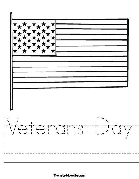 Veterans Day Math Worksheets Veterans Day Worksheet From Twistynoodle