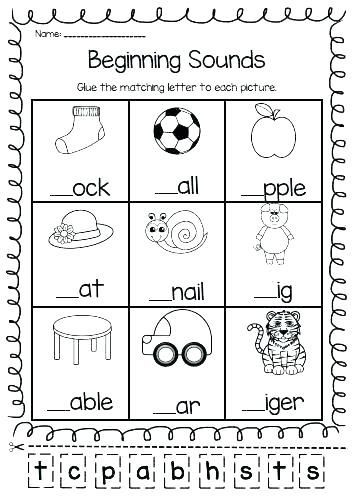 Vowel Worksheets for Kindergarten Letter B Phonics Worksheets Grade 1 for Kindergarten and
