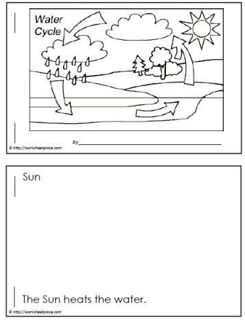 Water Cycle Worksheets 2nd Grade Water Cycle Booklet