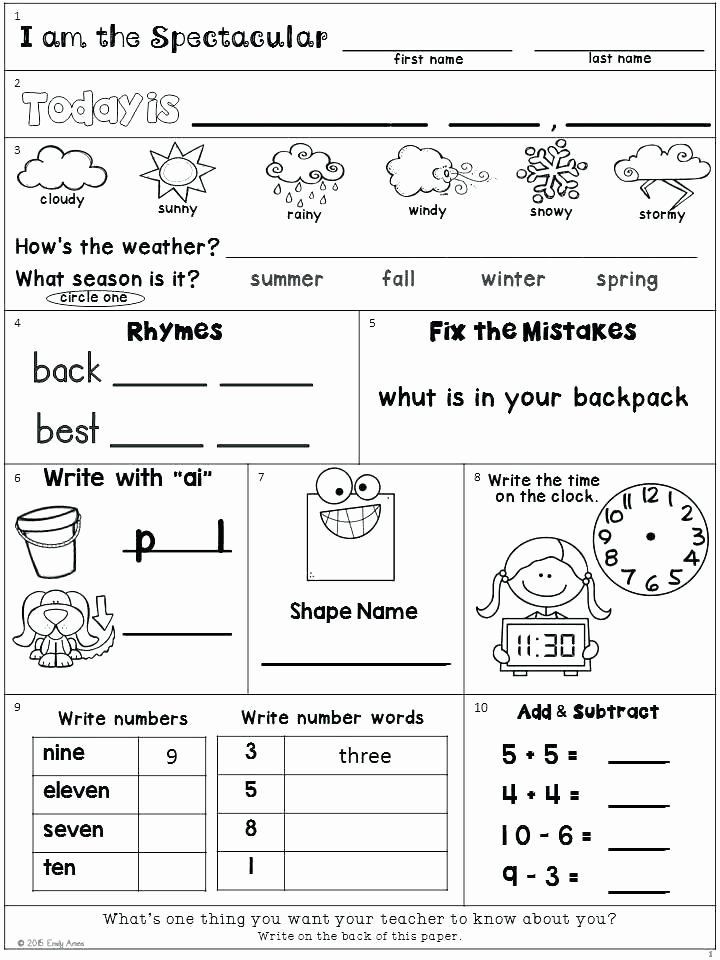 Weather Worksheets for 2nd Graders Pin On Editable Grade Worksheet Templates