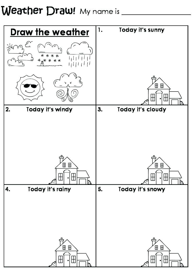 Weather Worksheets for Second Grade Weather Worksheets for 3rd Grade Weather Worksheets