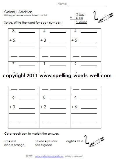 Worksheets for First Grade Writing Printable First Grade Worksheets
