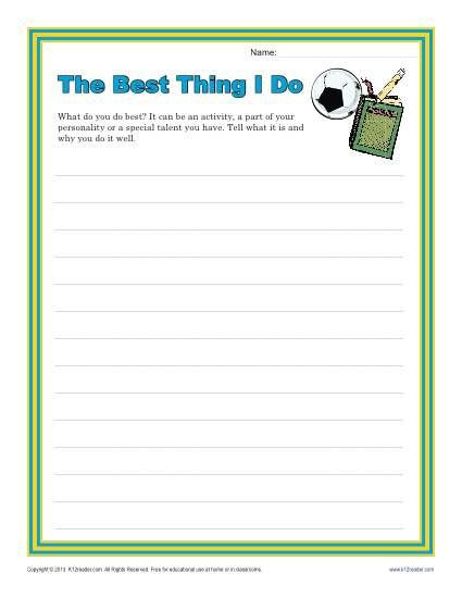 Writing Worksheets for 5th Grade 5th Grade Writing Activities