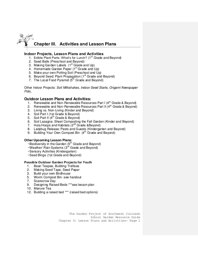 6 3 Biodiversity Worksheet Answers Colorado School Gardening Guide Chapter 3 Activities and