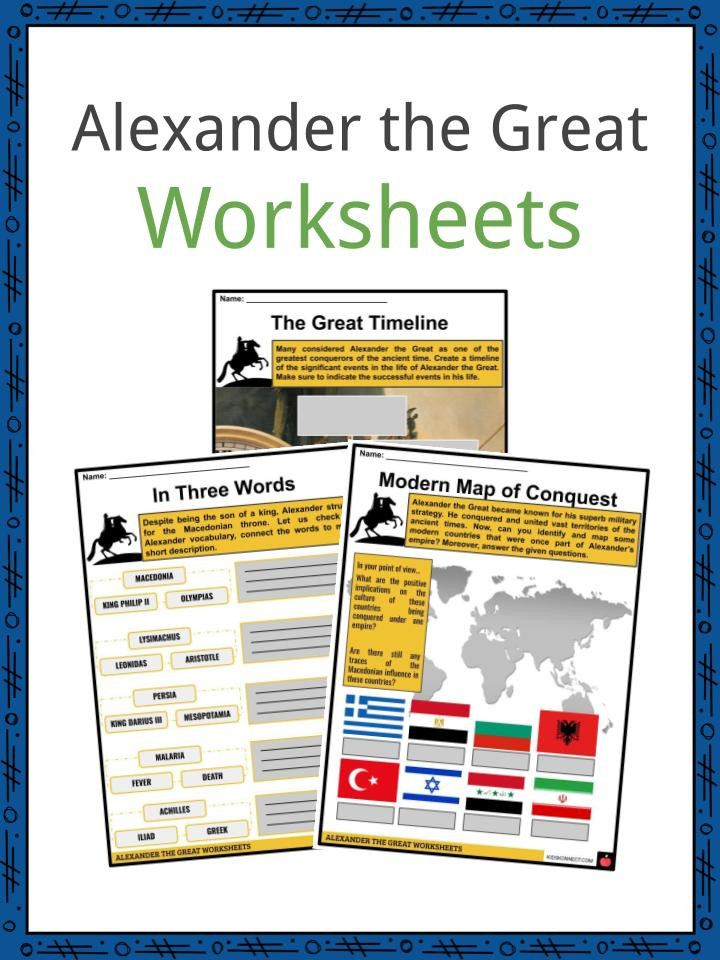 Alexander the Great Worksheets 6
