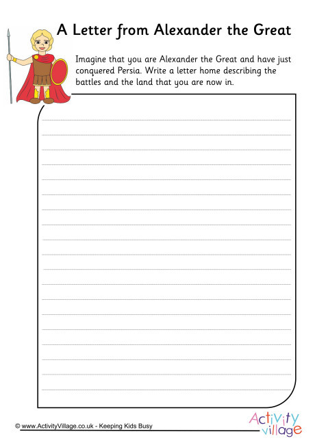 Alexander the Great Worksheet Alexander the Great