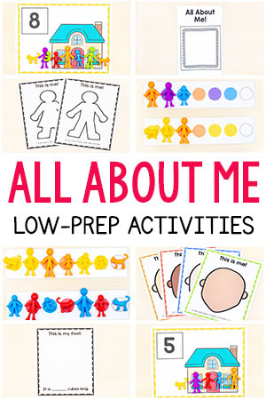All About Me Worksheet Preschool All About Me Activities