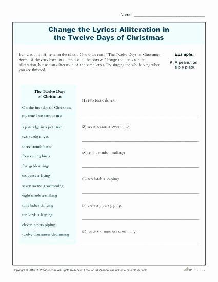 Alliteration Worksheets for Middle School Pin On Examples Printable Preschool Worksheets