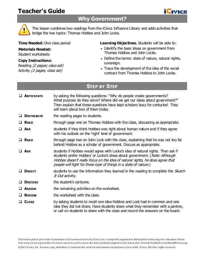 Anatomy Of the Constitution Worksheet why Government 1