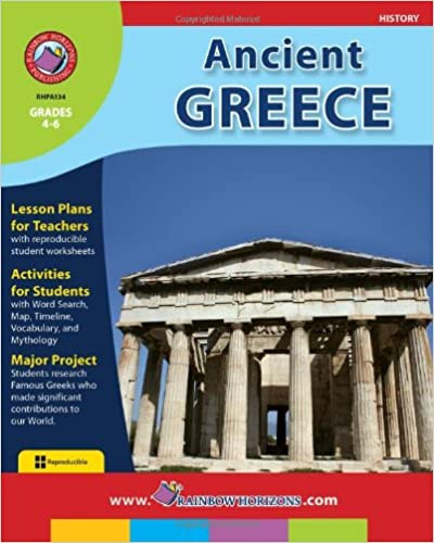 Ancient Greece Map Worksheet Amazon Ancient Greece Marci Haines Books