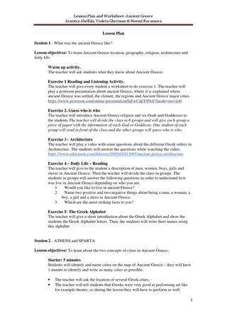 Ancient Greece Map Worksheet Clil Unit for 1ºeso Ancient Greec Lesson Plan and