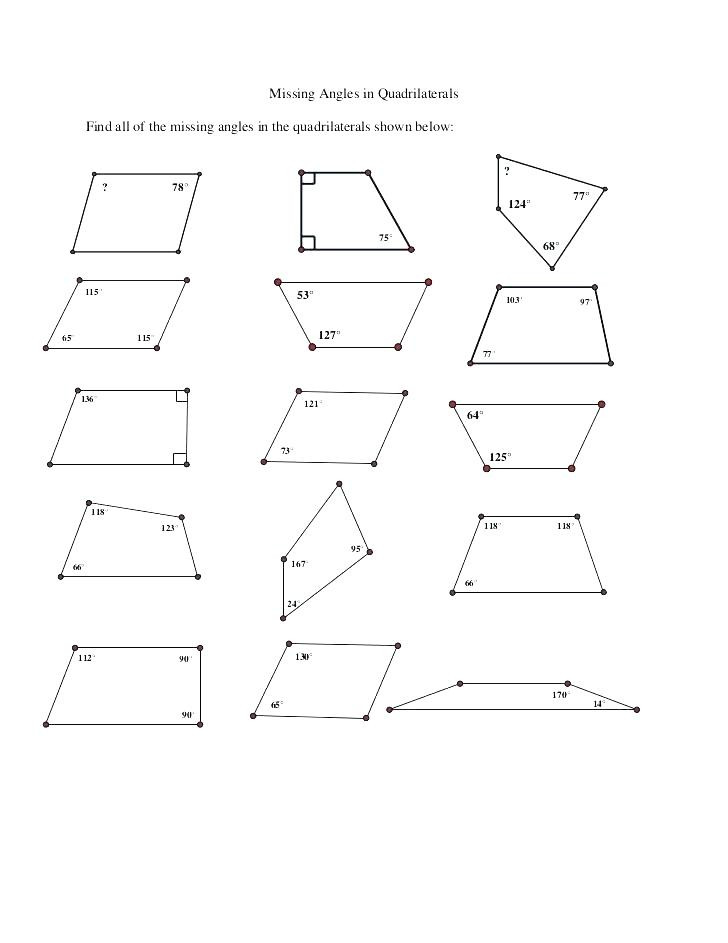 Angles Of Polygon Worksheet Interior and Exterior Angles Polygons Worksheets Math