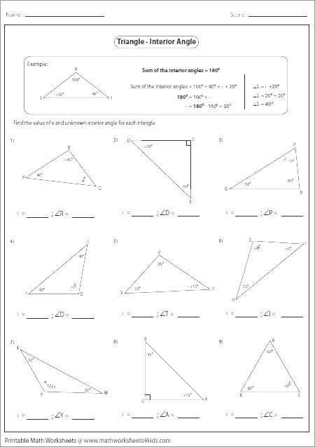 Angles Of Polygon Worksheet Polygon Worksheets Print How to Find the Number Diagonals