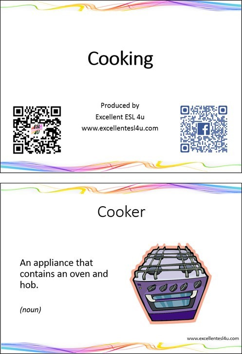 Basic Cooking Terms Worksheet Esl Cooking Vocabulary