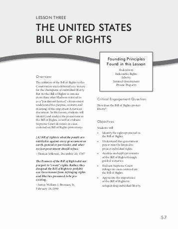 Bill Of Rights Scenarios Worksheet Pin On Customize Design Worksheet Line