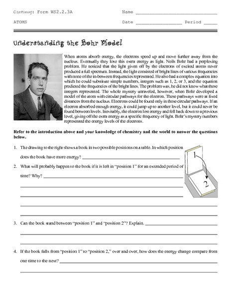Bohr Model Diagrams Worksheet Answers Drawing Bohr Models Lesson Plans & Worksheets Reviewed by
