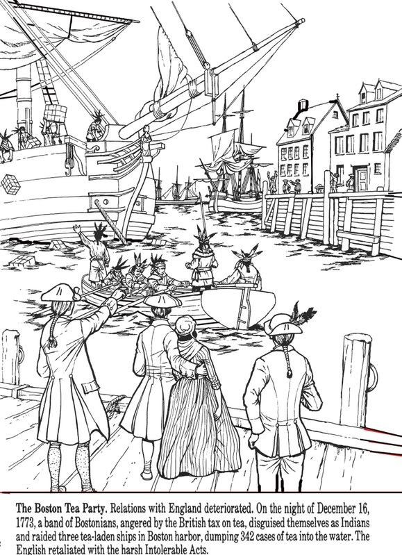 Boston Tea Party Worksheet All Things John Adams Coloring Pages Boston Tea Party